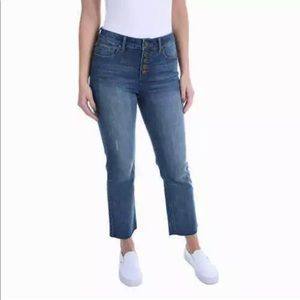Kenneth Cole NY Ladies 5 Button Fly Jeans 4/6/8/10